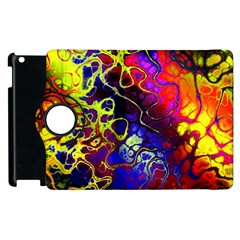 Awesome Fractal 35c Apple Ipad 2 Flip 360 Case by MoreColorsinLife