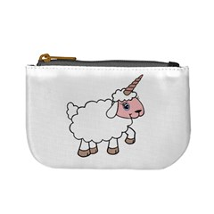 Unicorn Sheep Mini Coin Purses by Valentinaart