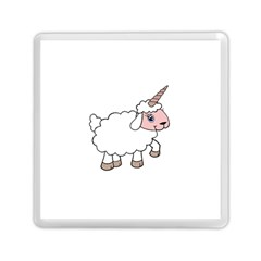 Unicorn Sheep Memory Card Reader (square)  by Valentinaart