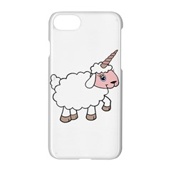 Unicorn Sheep Apple Iphone 7 Hardshell Case by Valentinaart