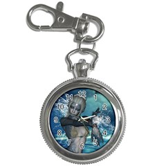 The Wonderful Water Fairy With Water Wings Key Chain Watches by FantasyWorld7
