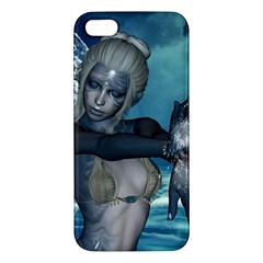 The Wonderful Water Fairy With Water Wings Iphone 5s/ Se Premium Hardshell Case by FantasyWorld7