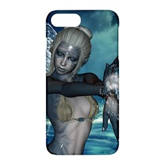 The Wonderful Water Fairy With Water Wings Apple Iphone 7 Plus Hardshell Case by FantasyWorld7