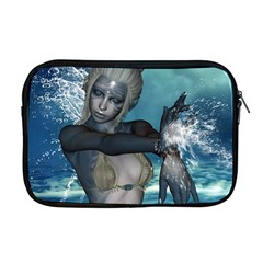 The Wonderful Water Fairy With Water Wings Apple Macbook Pro 17  Zipper Case by FantasyWorld7