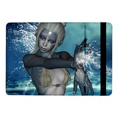 The Wonderful Water Fairy With Water Wings Samsung Galaxy Tab Pro 10 1  Flip Case by FantasyWorld7