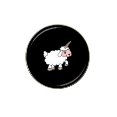 Unicorn Sheep Hat Clip Ball Marker by Valentinaart