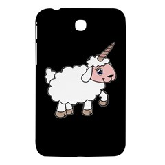 Unicorn Sheep Samsung Galaxy Tab 3 (7 ) P3200 Hardshell Case  by Valentinaart