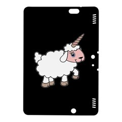 Unicorn Sheep Kindle Fire Hdx 8 9  Hardshell Case by Valentinaart