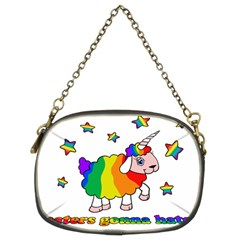Unicorn Sheep Chain Purses (two Sides)  by Valentinaart