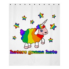 Unicorn Sheep Shower Curtain 60  X 72  (medium)  by Valentinaart