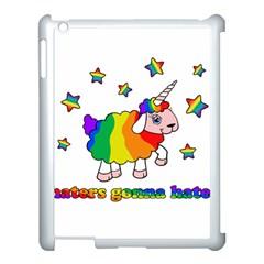 Unicorn Sheep Apple Ipad 3/4 Case (white) by Valentinaart