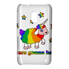 Unicorn Sheep Nokia Lumia 620 by Valentinaart