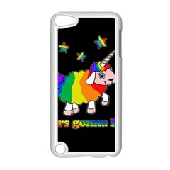 Unicorn Sheep Apple Ipod Touch 5 Case (white) by Valentinaart