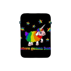 Unicorn Sheep Apple Ipad Mini Protective Soft Cases by Valentinaart