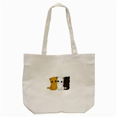 Cute Cats Tote Bag (cream) by Valentinaart