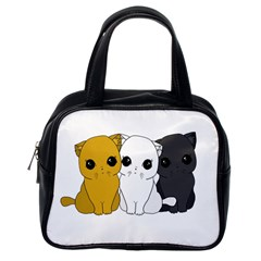 Cute Cats Classic Handbags (one Side) by Valentinaart
