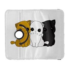 Cute Cats Galaxy S3 (flip/folio) by Valentinaart