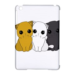 Cute Cats Apple Ipad Mini Hardshell Case (compatible With Smart Cover) by Valentinaart