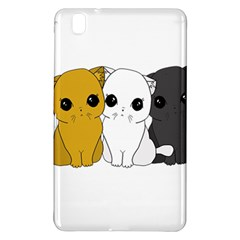 Cute Cats Samsung Galaxy Tab Pro 8 4 Hardshell Case by Valentinaart