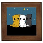 Cute cats Framed Tiles
