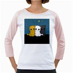 Cute cats Girly Raglans