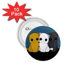 Cute cats 1.75  Buttons (10 pack)