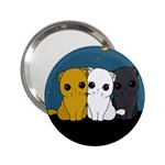Cute cats 2.25  Handbag Mirrors