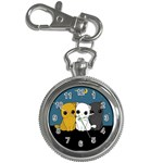 Cute cats Key Chain Watches