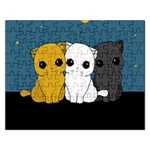 Cute cats Rectangular Jigsaw Puzzl