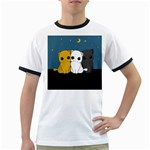 Cute cats Ringer T-Shirts