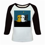 Cute cats Kids Baseball Jerseys