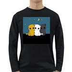 Cute cats Long Sleeve Dark T-Shirts