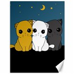 Cute cats Canvas 36  x 48