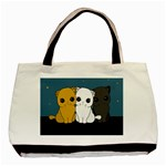 Cute cats Basic Tote Bag (Two Sides)