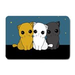 Cute cats Small Doormat
