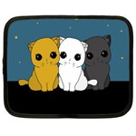 Cute cats Netbook Case (Large)
