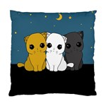 Cute cats Standard Cushion Case (Two Sides)