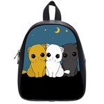 Cute cats School Bag (Small)