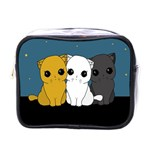 Cute cats Mini Toiletries Bags