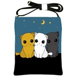 Cute cats Shoulder Sling Bags