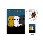 Cute cats Playing Cards (Mini)