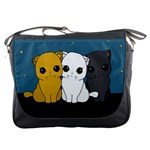 Cute cats Messenger Bags