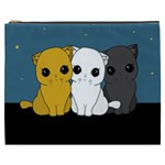 Cute cats Cosmetic Bag (XXXL)
