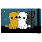 Cute cats Apple iPad 3/4 Flip Case