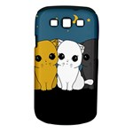 Cute cats Samsung Galaxy S III Classic Hardshell Case (PC+Silicone)