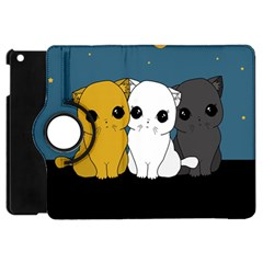 Cute Cats Apple Ipad Mini Flip 360 Case by Valentinaart