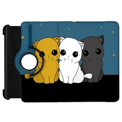 Cute Cats Kindle Fire Hd 7  by Valentinaart