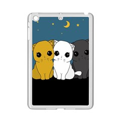 Cute Cats Ipad Mini 2 Enamel Coated Cases by Valentinaart