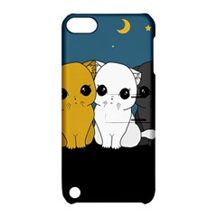 Cute Cats Apple Ipod Touch 5 Hardshell Case With Stand by Valentinaart