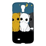Cute cats Samsung Galaxy S4 I9500/I9505 Hardshell Case